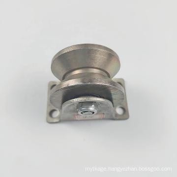 Sliding gate triangular roller wheel pulley groove sliding door roller wheels