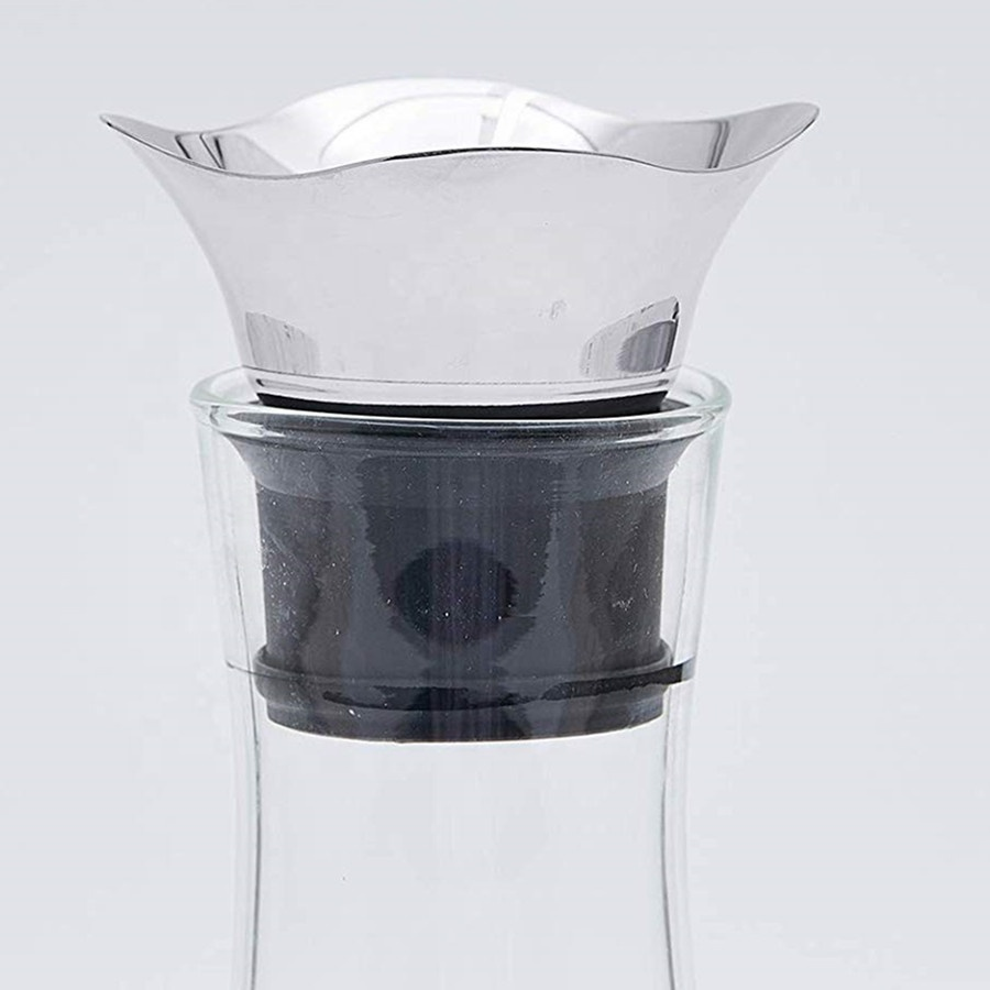 Glass Drip Free Carafe With Stainless Steel 4