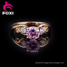 Fashion Design Gold Wedding Finger Ring