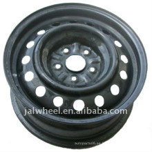 Negro rueda de acero de invierno para el coche de pasajeros