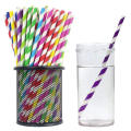 Wholesale Food Grade Eco Color Paper Straw,Biodegradable Paper Drinking Straw