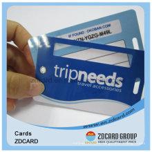 ISO 9001 Plastic PVC Material Metro Cards