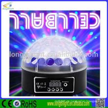 Weihnachten Magic Ball 6 * 3W RGB führte Disco Licht Spiegel Ball