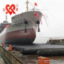 XINCHENG MADE IN CHINA marine Airbag en caoutchouc de récupération sous-marine / airbags marins en caoutchouc
