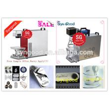 Machine de repérage au laser Syngood Fibre SG10F / SG20F / SG30F-Spécial pour étiquette de chien en blanc