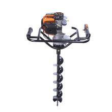 Máquina excavadora manual portátil de agujeros para postes