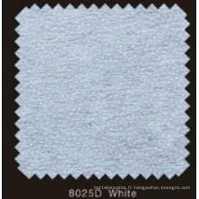 Doublure fusible non tissée double DOT de couleur blanche avec poudre de PA (blanc 8025D)
