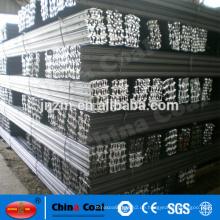 Chinesische Standardstahlschiene / leichte Schiene für Bergbau und Kran