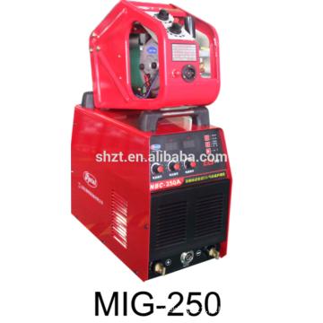 Inverter co2 MMA soldador MIG 250 máquina de solda de alumínio