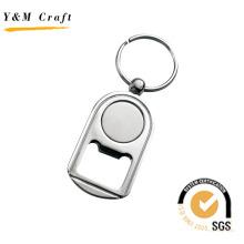 Personalisierte benutzerdefinierte Logo und Form Metall Flaschenöffner Keychain (Y03007)