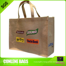 Printed Jute Bag for Sale (KLY-JT-0005)