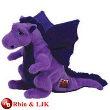 ICTI Audited fábrica suave dragón de peluche de juguete para la venta