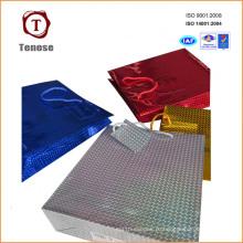 Красочный пользовательский высококачественный бумажный мешок для покупок