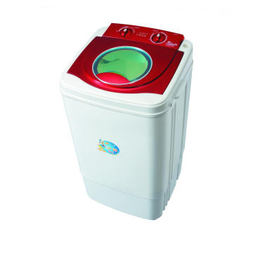 Rote Plastikabdeckung 7KG Single Tub Washing Machine
