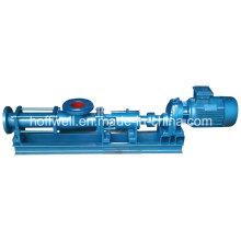 O CE aprovou a única bomba de parafuso da água do Waster G85-1