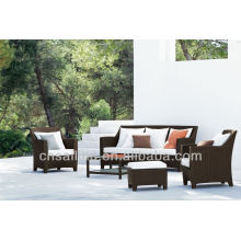 Popular Patio Waterproof black rattan furniture uk
