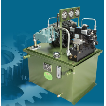 Variable plunger pump for machinery