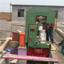 Vertical Band Saw Machine with Carriage for Cutting