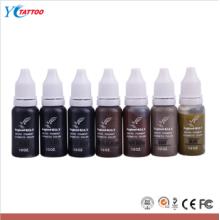 Vente en gros de crayons de tatouage cosmétique Pigment Colorful Tattoo Ink Prices