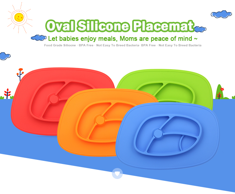silicone placemat baby