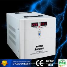 Servo Motor Type Input 140-260V Output 220V 3% Voltage Stabilizer SCIENTEK Factory