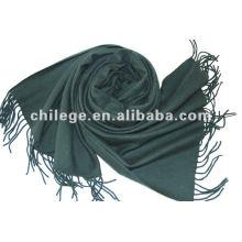 hiver super long laine écharpes et châles de couleur unie