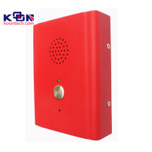 Telefone com viva-voz, interfone de construção, caixa de chamada com corpo robusto