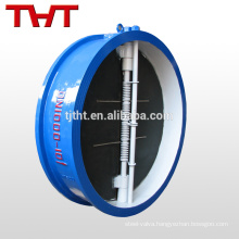 dual disc/ double door wafer type double check valve assembly