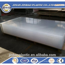 sábanas de plástico ultradelgadas irrompibles