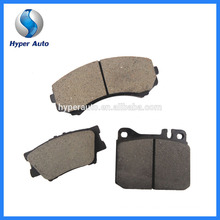 Low Metal Friction Coefficient D681A/7560 Auto Bremse Brake Pad Material Brake Pad
