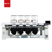 BAI 4 heads 1200rpm High speed 12 colors DAHAO computerized embroidery machine for cap thirt