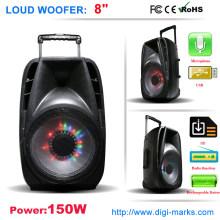 Colorful LED Light Wireless Bluetooth Speaker Karaoke Speaker