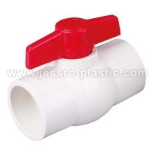 ROBINET À BOISSEAU SPHÉRIQUE ROBINETS PVC COMPACT