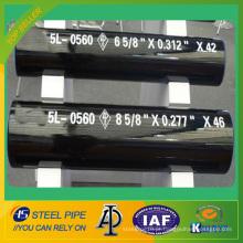 API 5L PSL1 Tubo de aço sem costura a frio