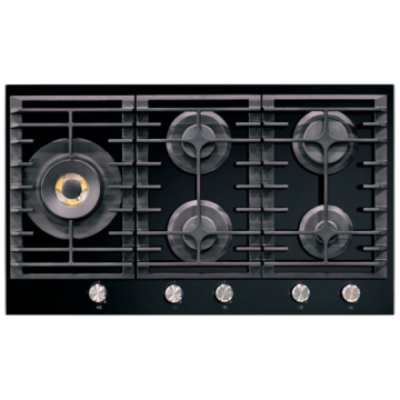 Kitchenaid Hobs UK Estufa de gas de 5 quemadores