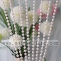 8/10/12 / 14MM Vintage Faux Shiny White Pearl Beads Ghirlanda