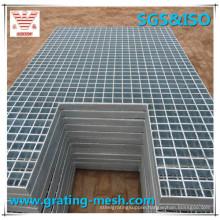 Industrial Metal Walkways Steel Grating