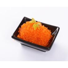 atacado caviar de laranja congelado temperado peixe voador ovas temperado tobiko