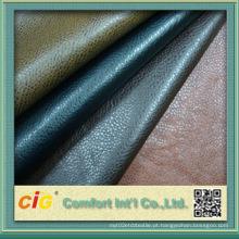 Livro colorido de alta qualidade de couro PU vinculativo