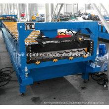 Máquina perfiladora de pared con control PLC