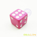 Beautiful Bulk High Quality 16MM square Opaque Plastic Colored Dice 5/8""