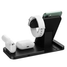 relógio apple e carregador de telefone / carregador sem fio iphone xr