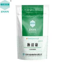Medicina animal Qiqing Baidu grânulos para diarréia quente e úmido e branco scour de frango