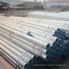 China Lieferant Umsatz 5 Zoll galvanisierte Stahlrohr