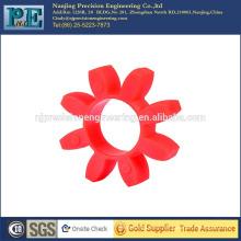 Engranaje de inyección de PC rojo de precisión personalizado