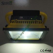 50W wiederaufladbare Scheinwerfer, LED Notleuchte mit 4 Stunden