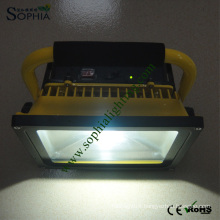 50W Rechargeable Floodlight, LED Emergency Light with 4 Hours