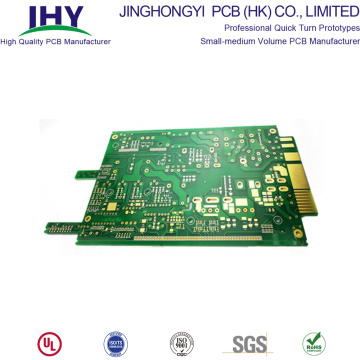 8 Layer Immersion Gold Finish PCB 1 Unze Kupferdicke