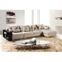 New sectional living room corner sofa with side board KW1508