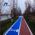 Approvisionnement direct d'usine Pulvérisation Polyurea Courts Sports Surface Flooring Athletic Running Track